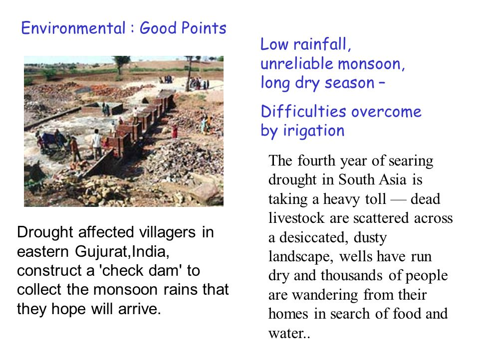 Civil Unrest if water management system fails With incessant rains in Gujarat water logging is threatening the standing crops