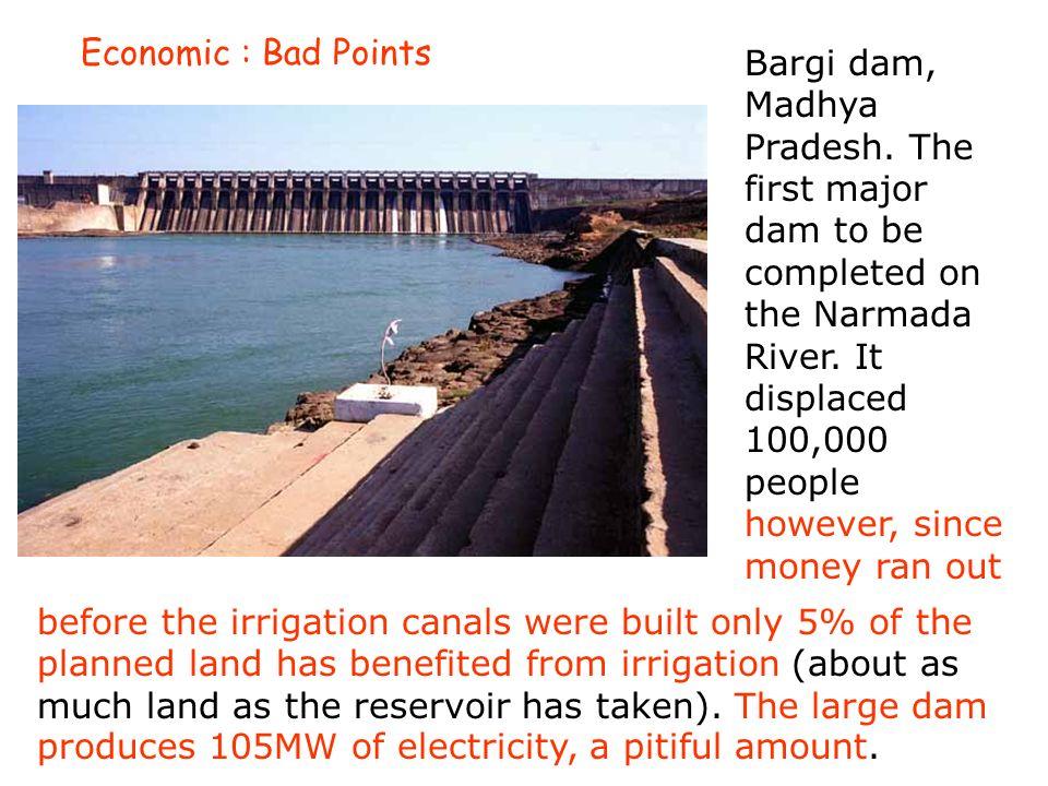 Sardar Sarovar dam: At what price progress.