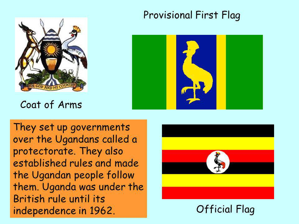 1962 Uganda gained independence from the British.independence But the Baganda were reluctant to give up the special status they had enjoyed under Brit