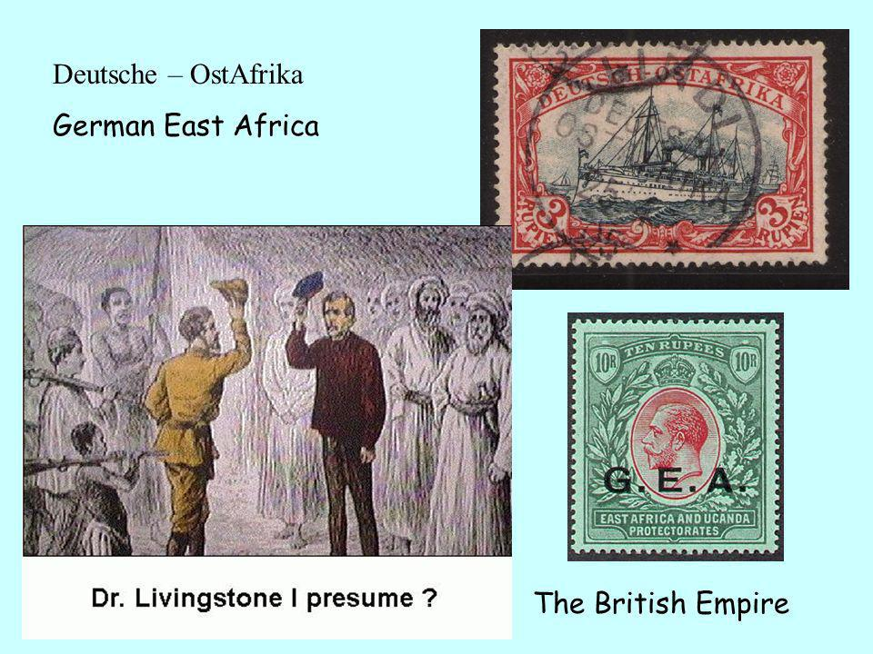 1894 Britain and Germany competed for power over this part of East Africa.
