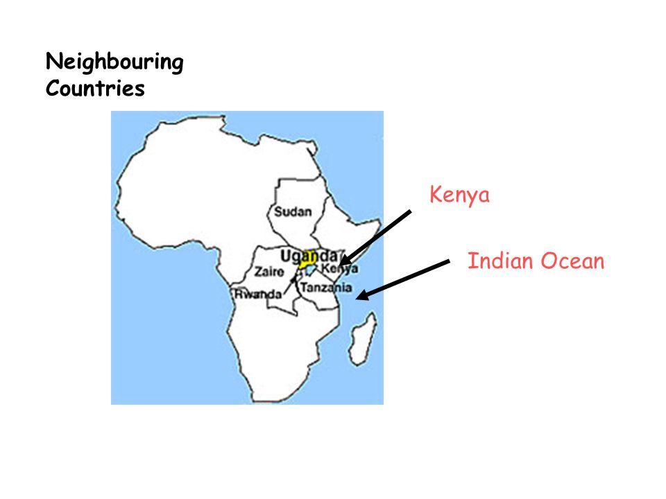 The Equator Lake Victoria Uganda – key geography It has no coastline It is landlocked River Nile starts here and flows northwards