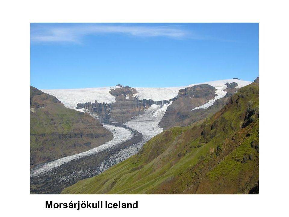 Morsárjökull Iceland