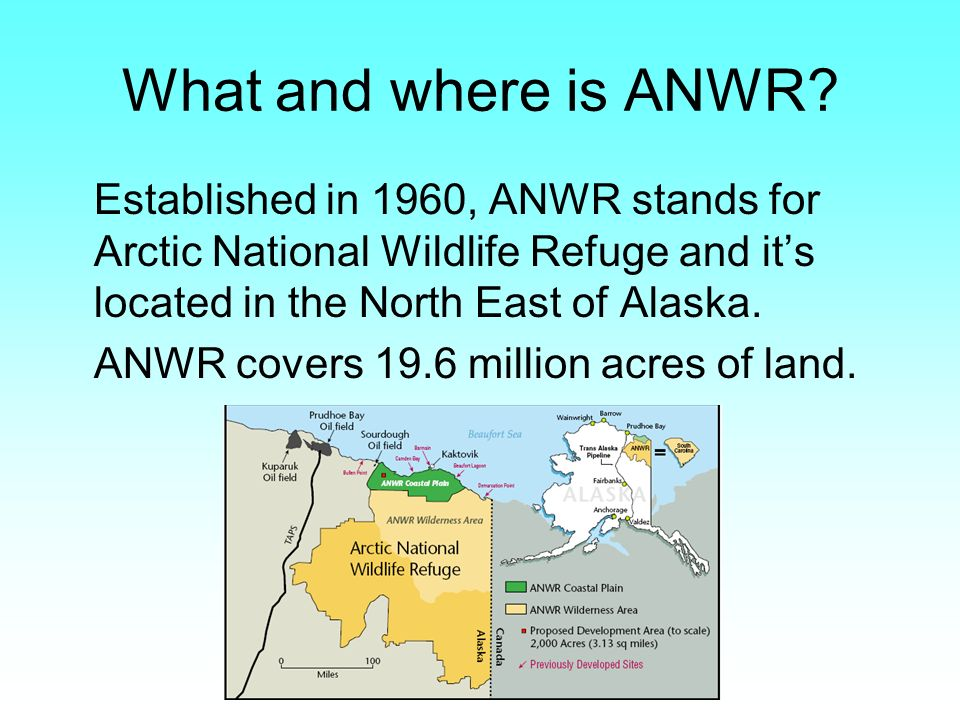 What and where is ANWR.