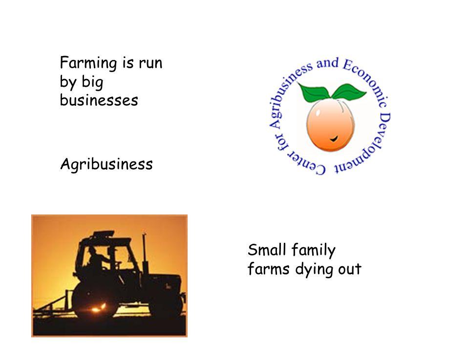 Rise of organic farming