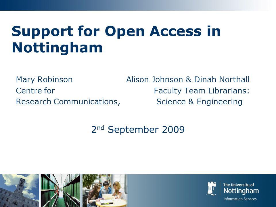 Open Access: How.OA Journals http://www.doaj.org/http://www.doaj.org/ e.g.