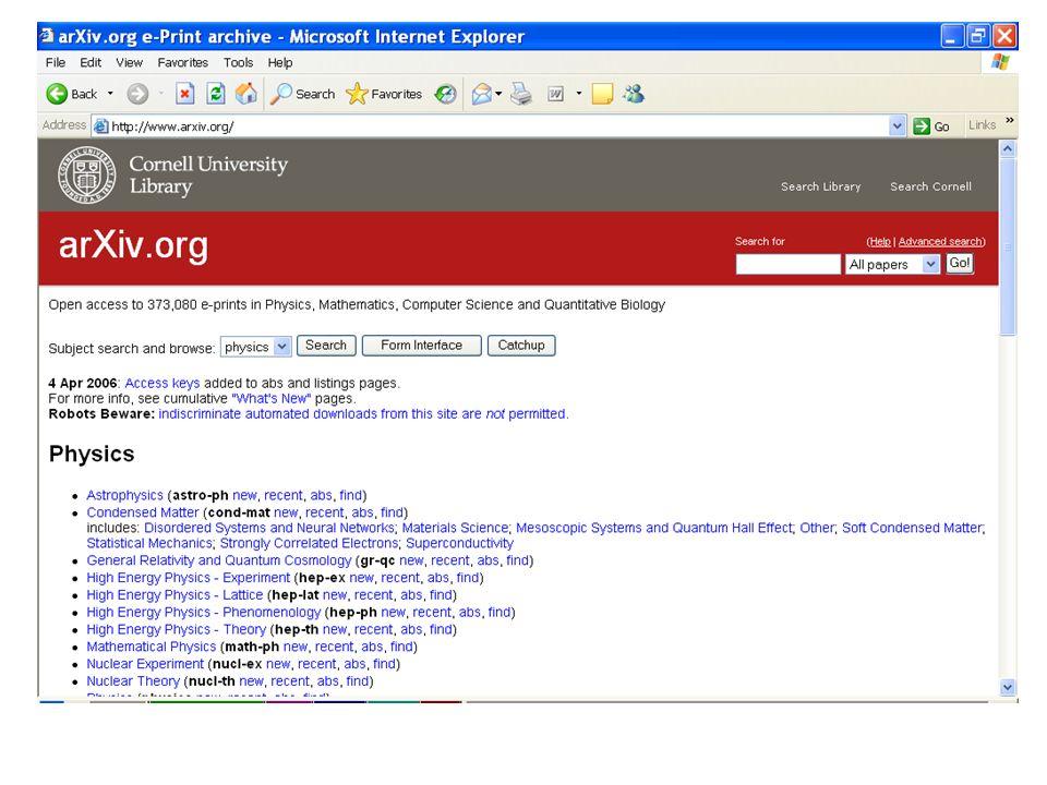 Screen shot DSpace@MIT