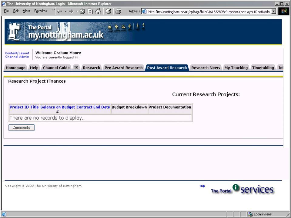 Portal finance