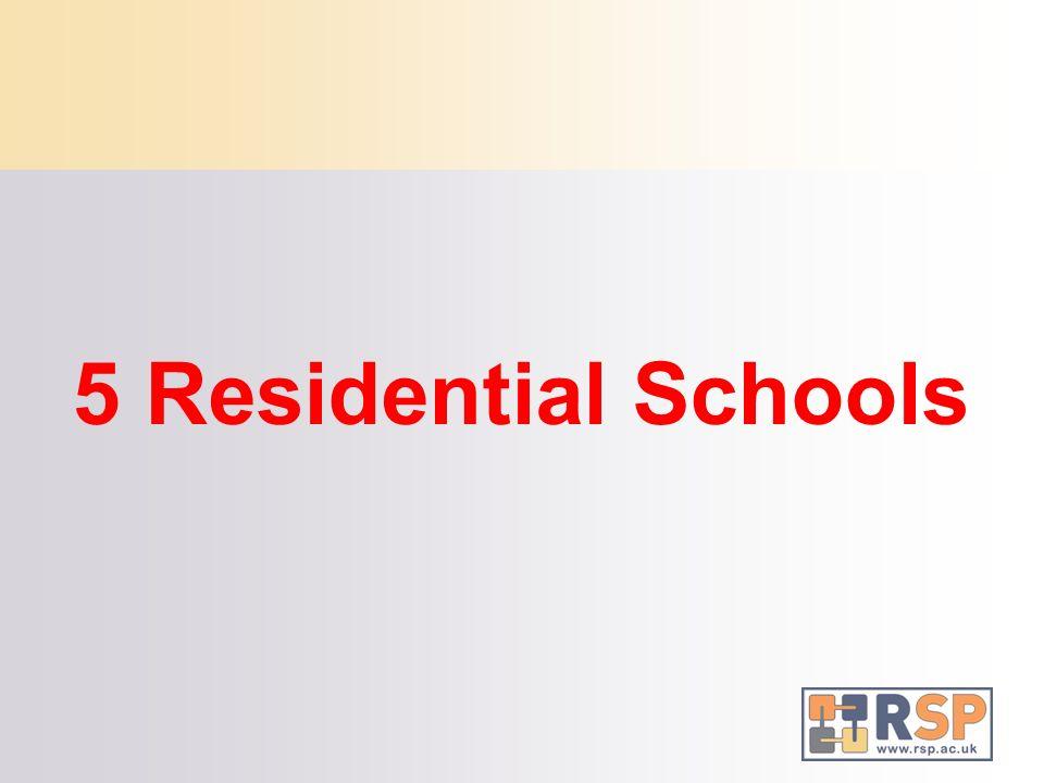 5 Residential Schools