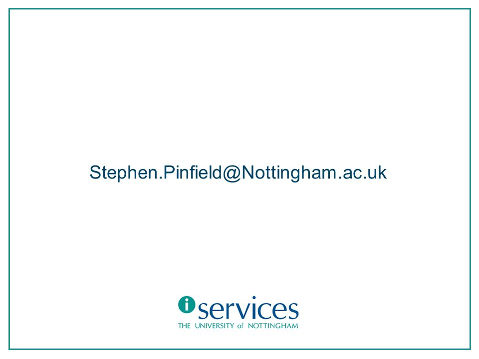 Stephen.Pinfield@Nottingham.ac.uk