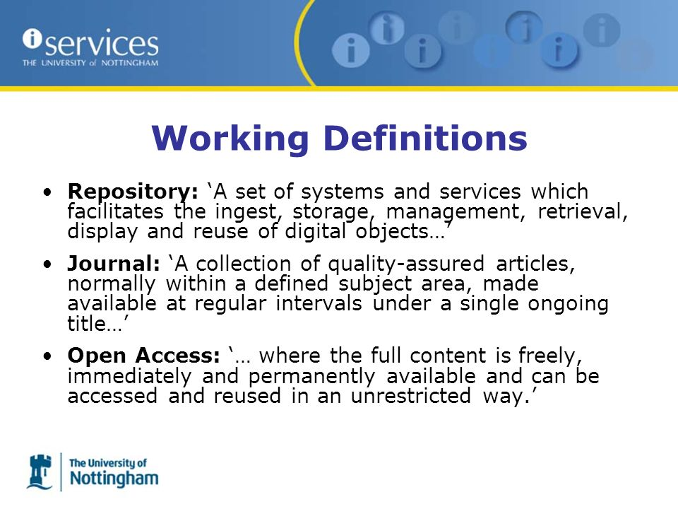 3 Models 1.Repository Journal 2.Journal Repository 3.Repository Overlay Journal