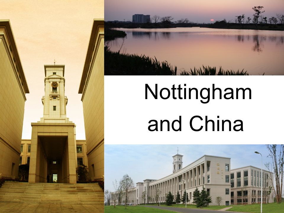 Nottingham and China