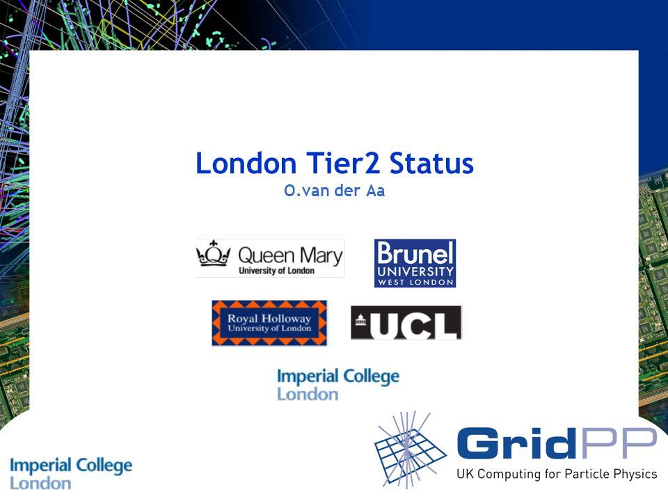 London Tier2 Status O.van der Aa