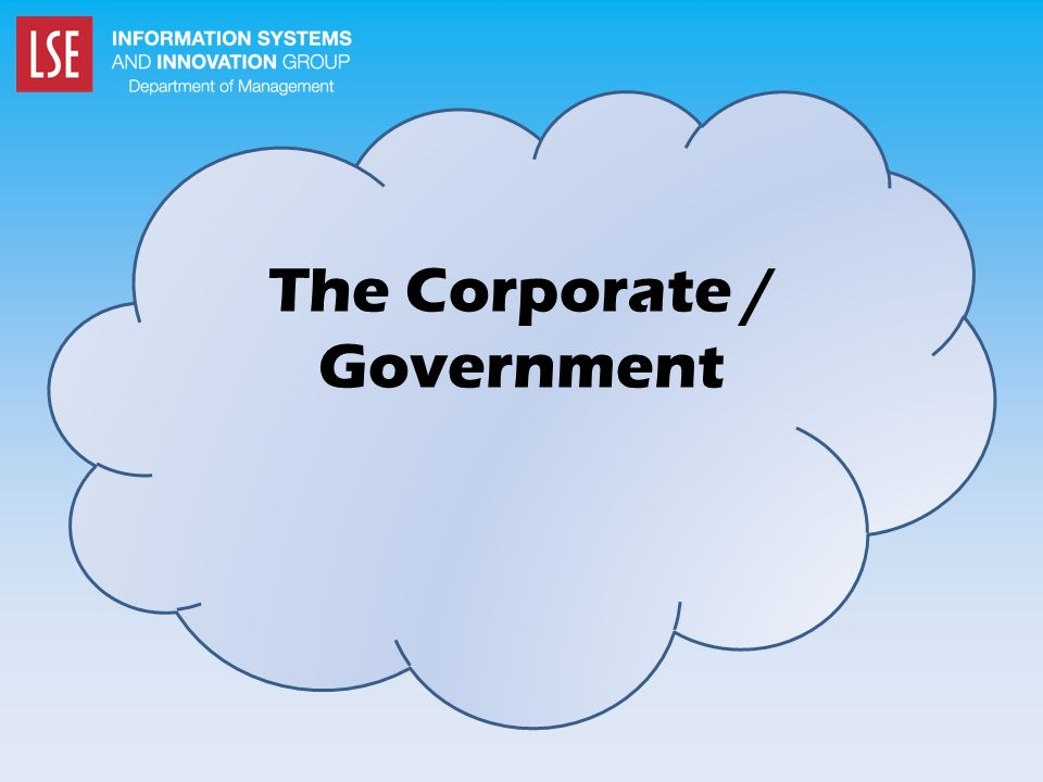 The Corporate / Government