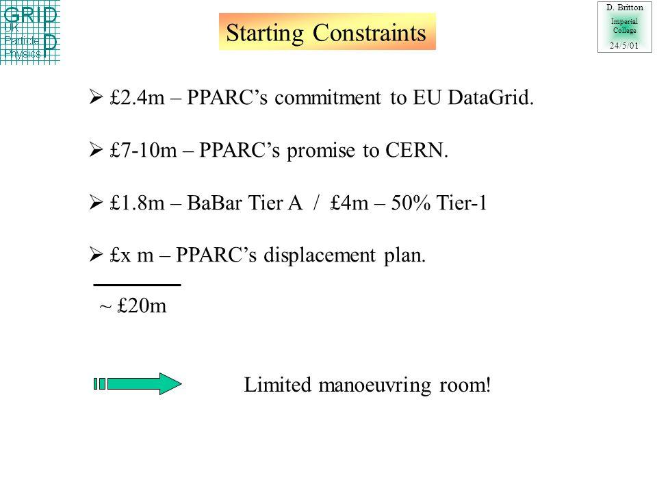 GridPP Proposal (Cmp 1-4) D.