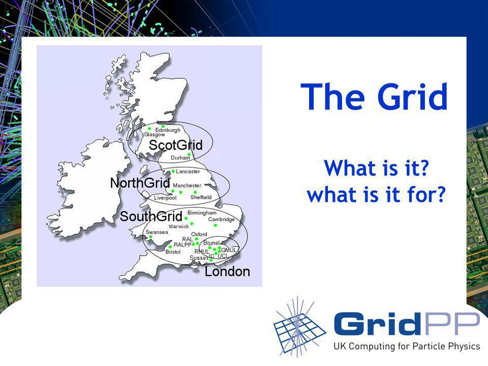 The Grid What is it what is it for