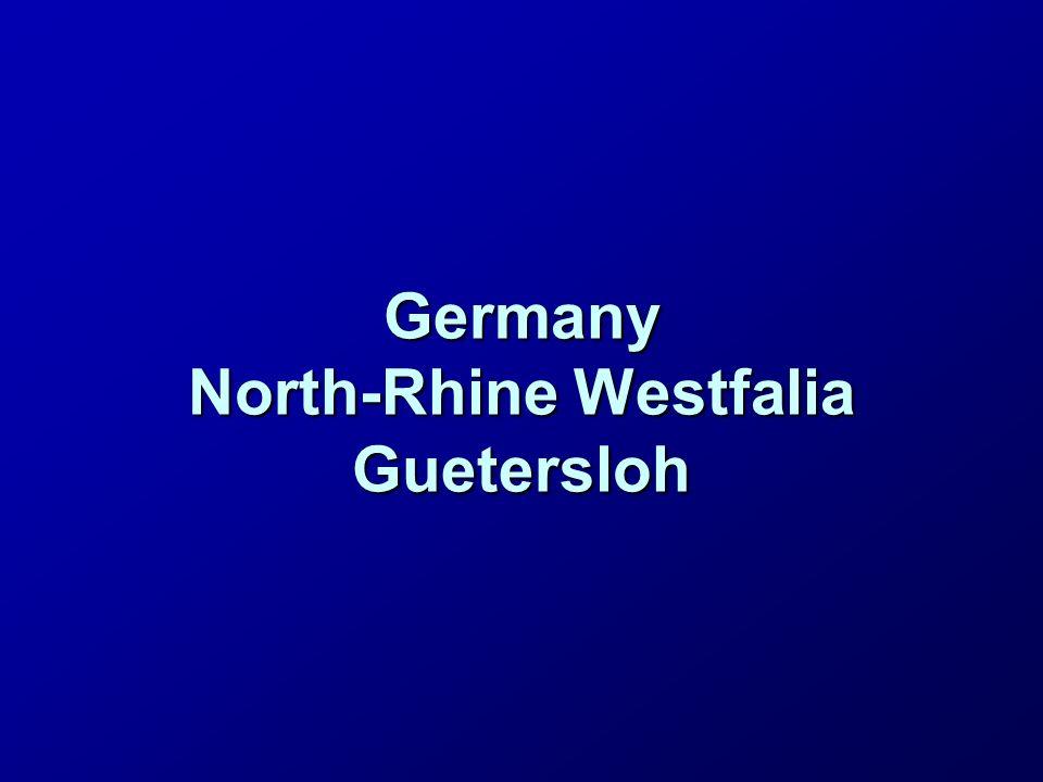 Germany North-Rhine Westfalia Guetersloh