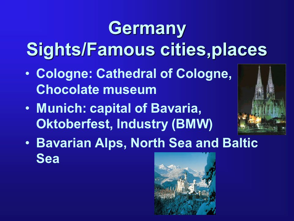 We hope that you could get a better impression of Germany, the state NRW and the town Guetersloh Celina P.