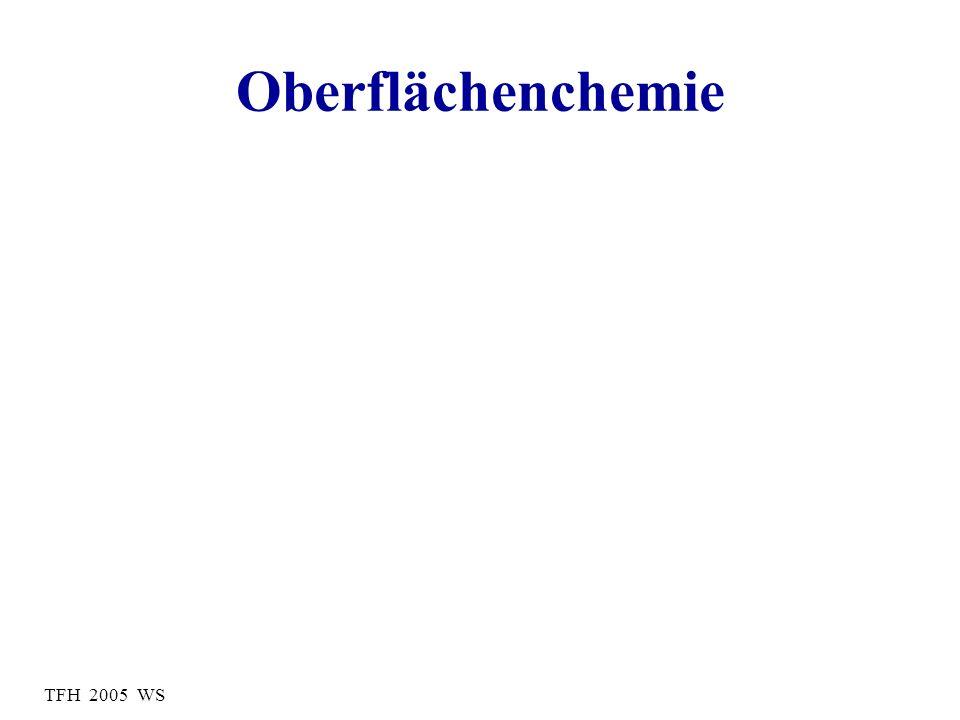 TFH 2005 WS Oberflächenchemie