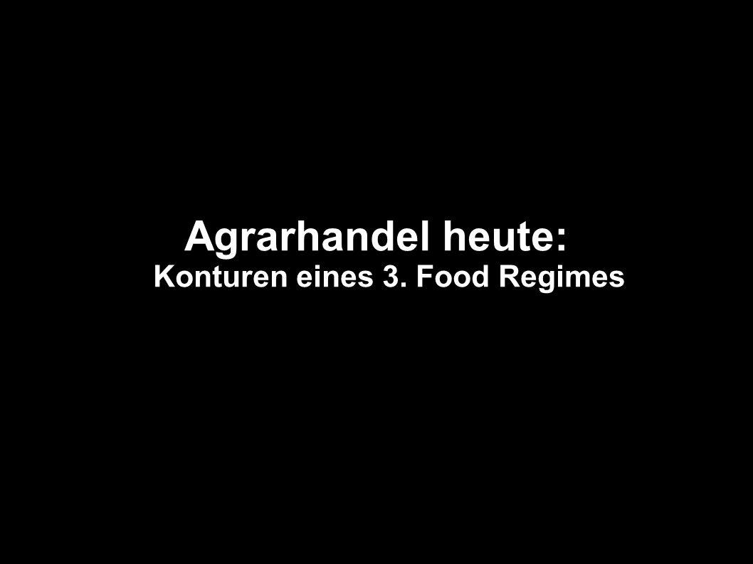 Agrarhandel heute: Konturen eines 3. Food Regimes