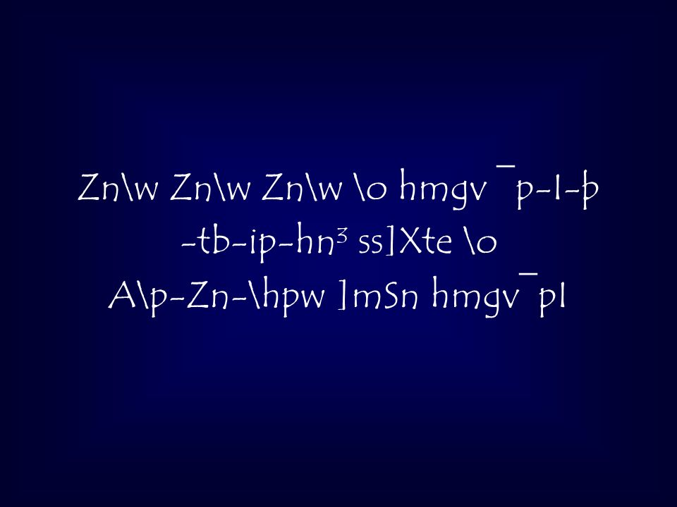 Zn\w Zn\w Zn\w \o hmgv ¯p-I-þ -tb-ip-hn³ ss]Xte \o A\p-Zn-\hpw ]mSn hmgv¯pI