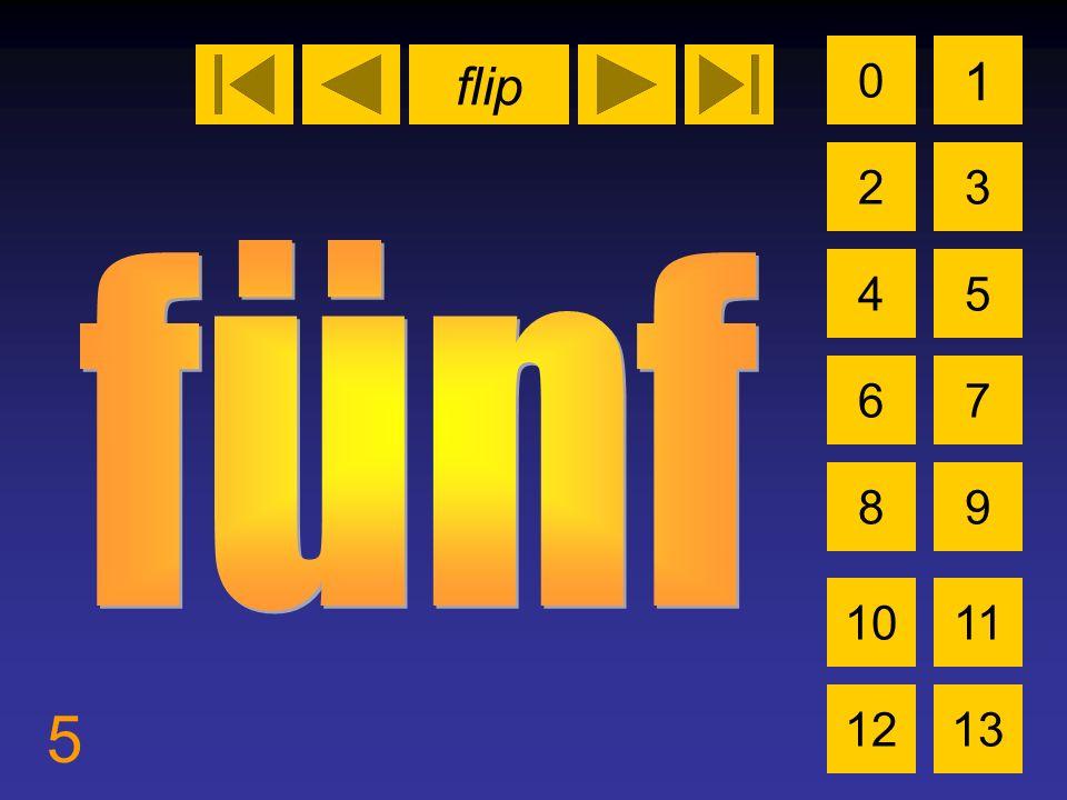 flip 5 0 2 1 3 4 6 5 7 89 1011 1213