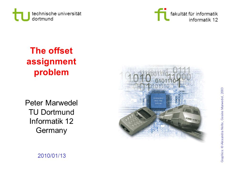 - 5 - technische universität dortmund fakultät für informatik p. marwedel, informatik 12, 2011 Results for WCET-aware register allocation