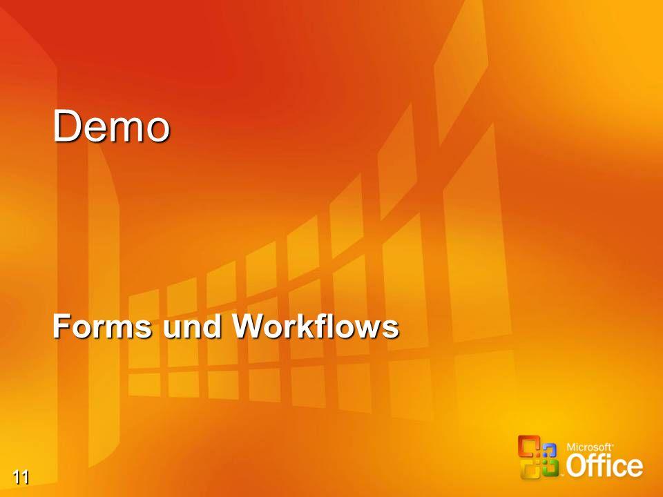 11 Demo Forms und Workflows