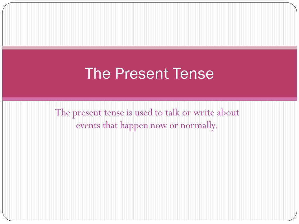 To form the present tense in German you just need to follow 3 simple steps.