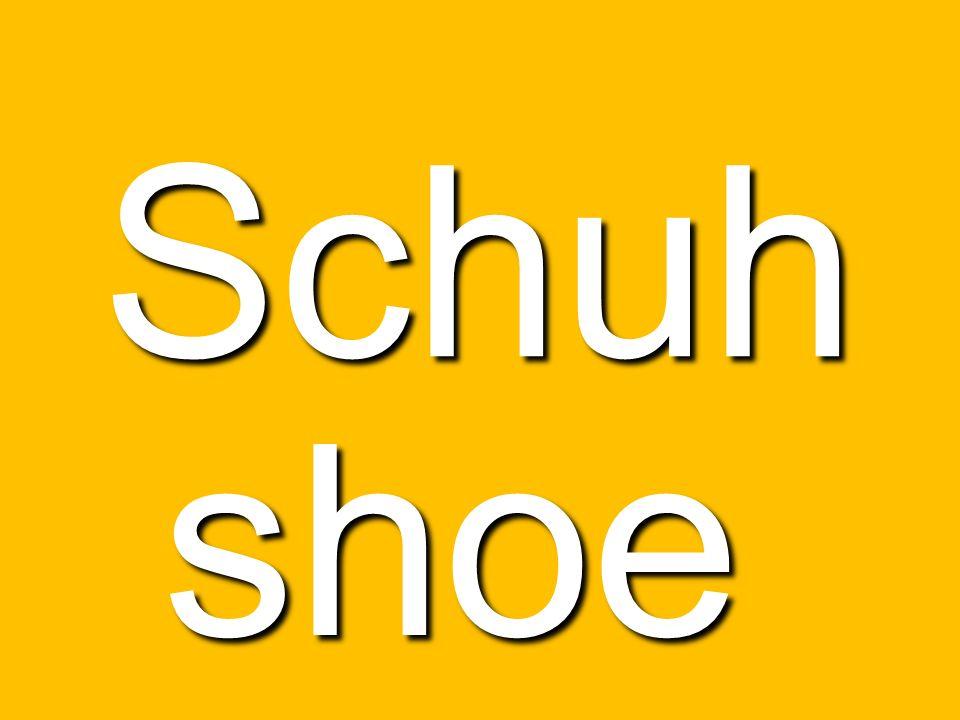 Schuh shoe