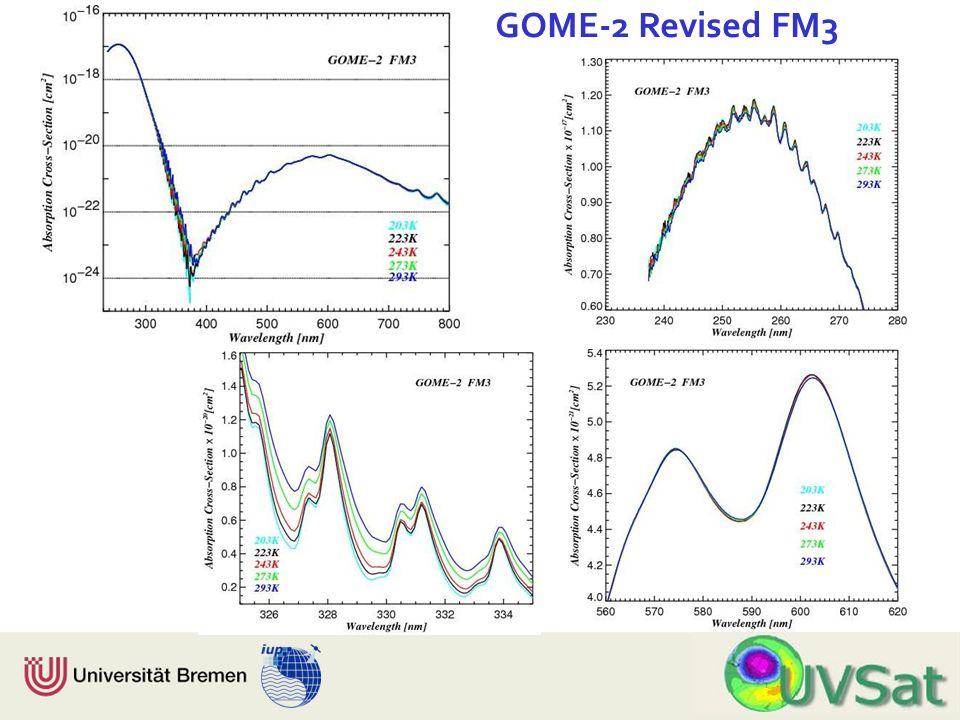 Physik Fachbereich 1 Institut für Umweltphysik GOME-2 Revised FM3