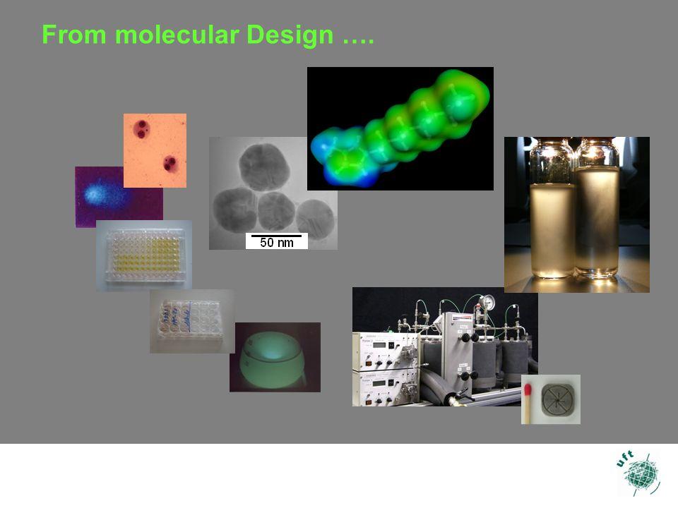 12 From molecular Design ….