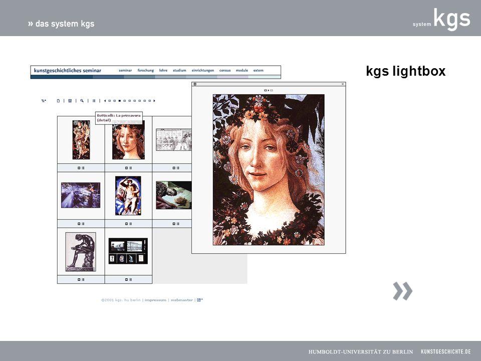 kgs lightbox