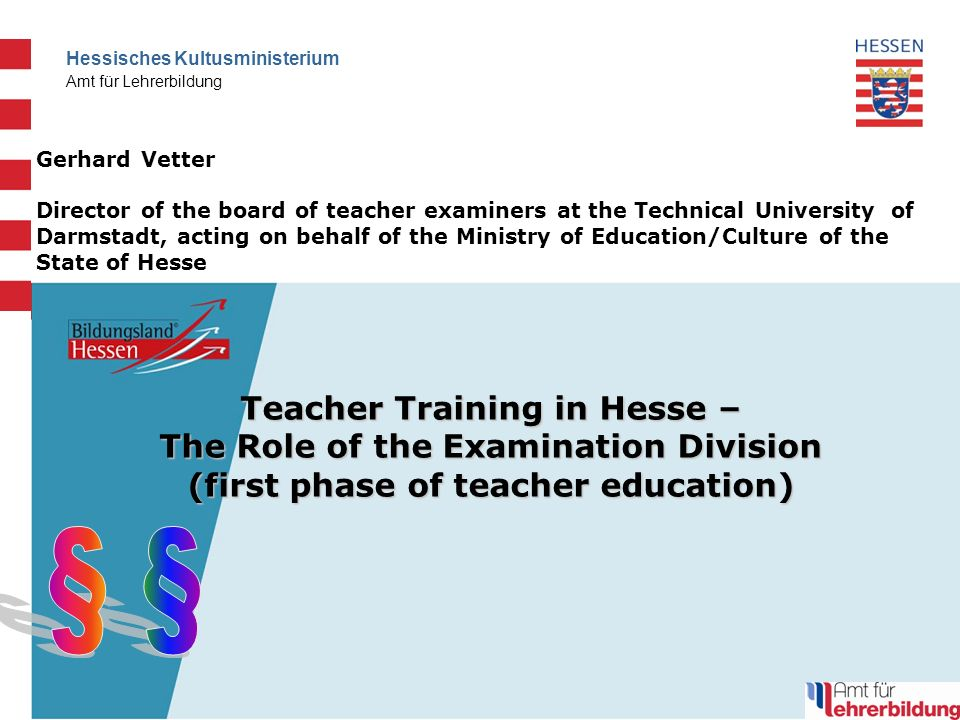 12 Hessisches Kultusministerium Amt für Lehrerbildung 12. Februar 2014 Exam nerves ?