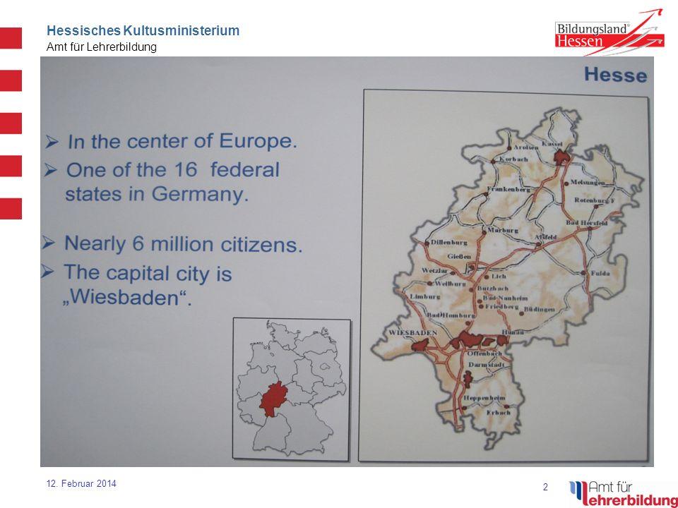 3 Hessisches Kultusministerium Amt für Lehrerbildung 12.