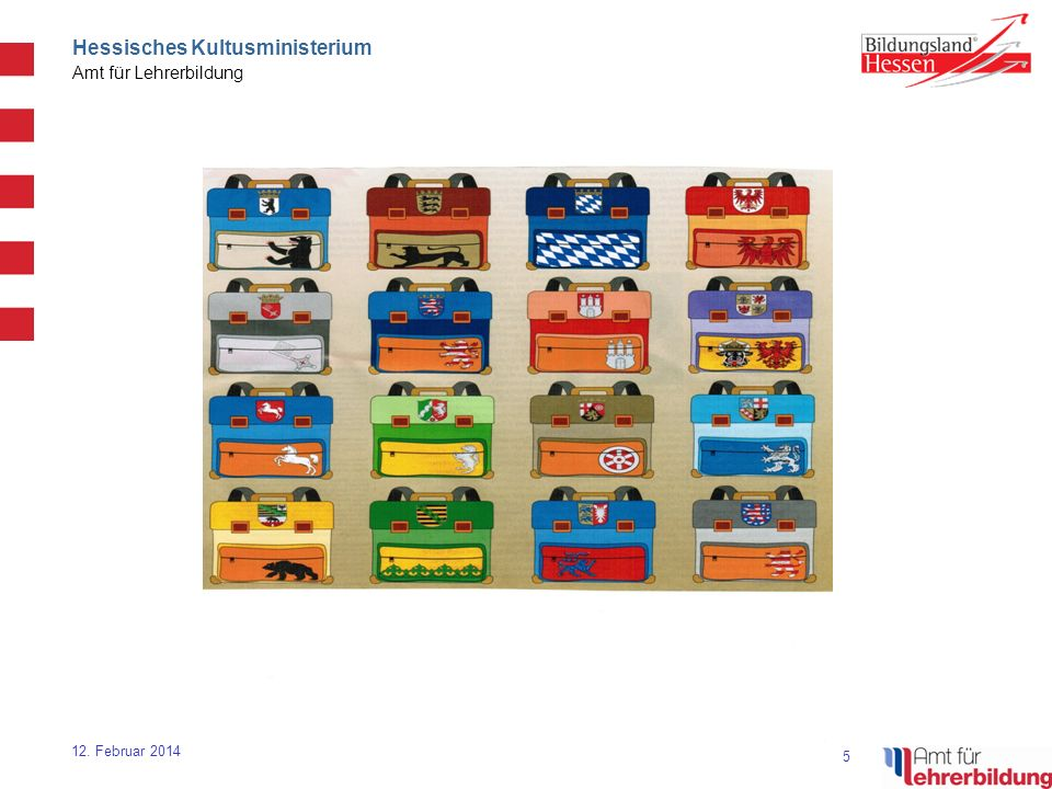 16 Hessisches Kultusministerium Amt für Lehrerbildung 12.