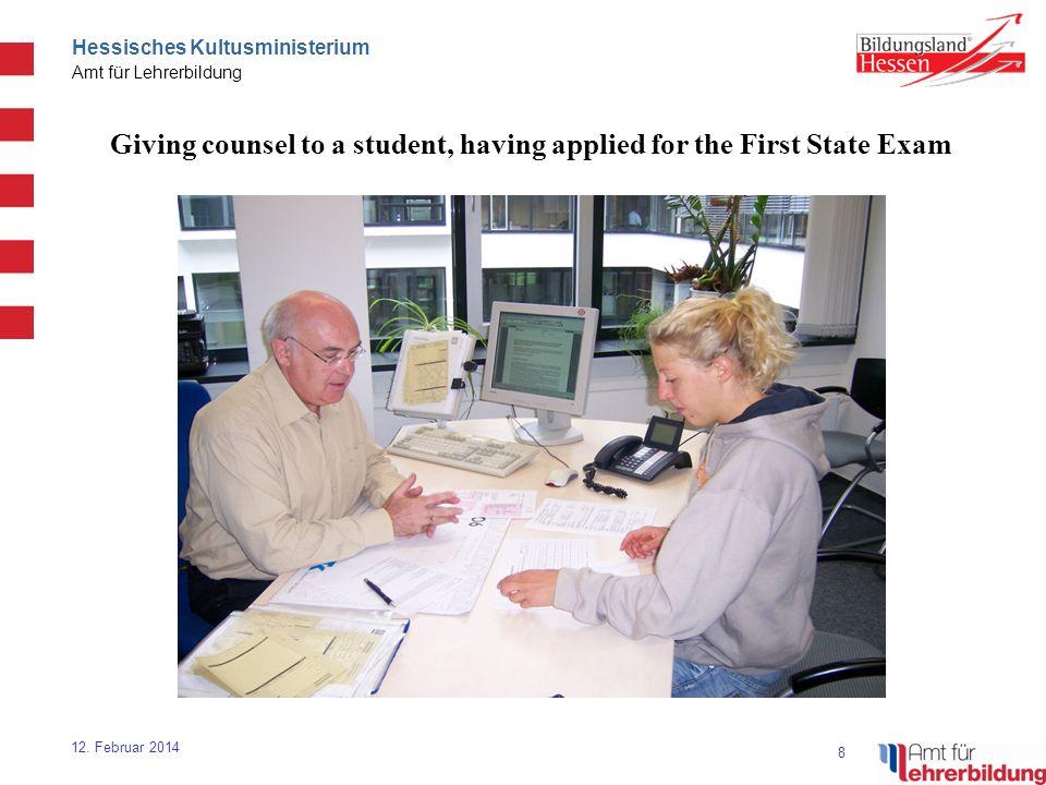 8 Hessisches Kultusministerium Amt für Lehrerbildung 12.