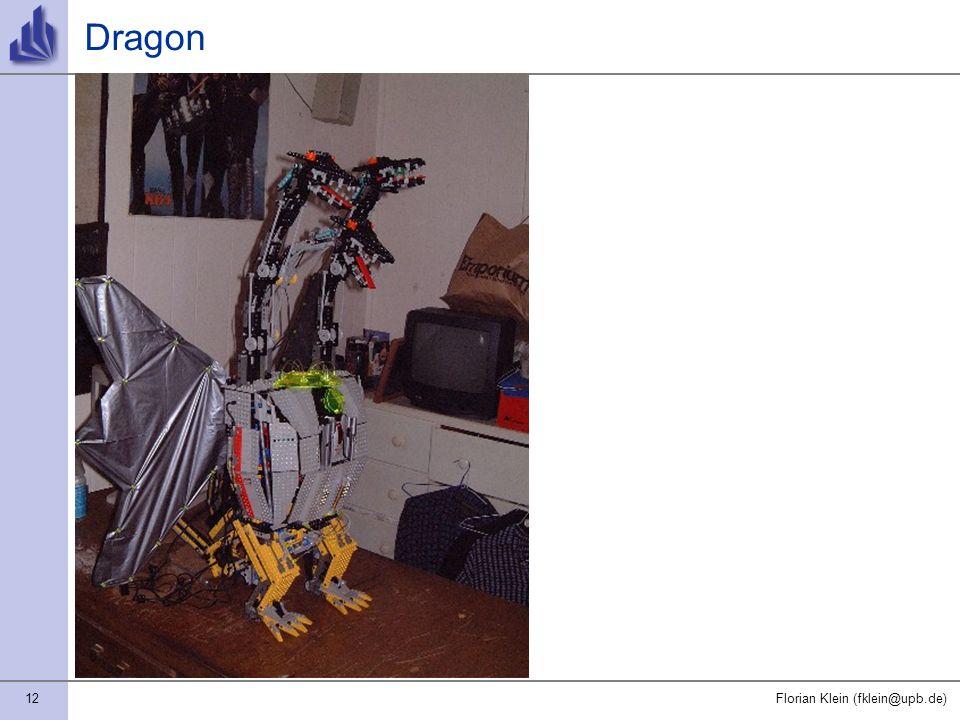 12Florian Klein (fklein@upb.de) Dragon