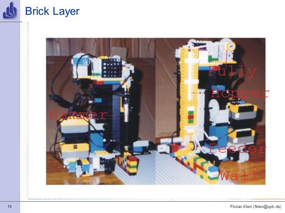 19Florian Klein (fklein@upb.de) Brick Layer