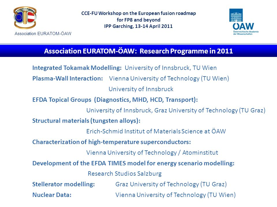 CCE-FU Workshop on the European fusion roadmap for FP8 and beyond IPP Garching, 13-14 April 2011 Predictive Modelling for ITER: Roadmap Objective 2 Power flux to the outer divertor plate during a Type-I ELM from simulation with BIT 1 and infrared thermography (JET shot #74380; S.