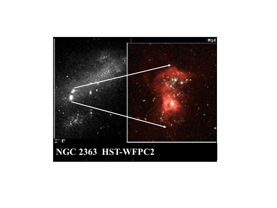 NGC 2363 HST-WFPC2