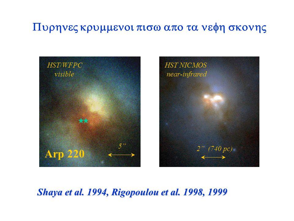 Scoville et al. 2000 (HST NICMOS)