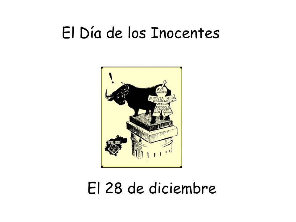 El 28 de diciembre