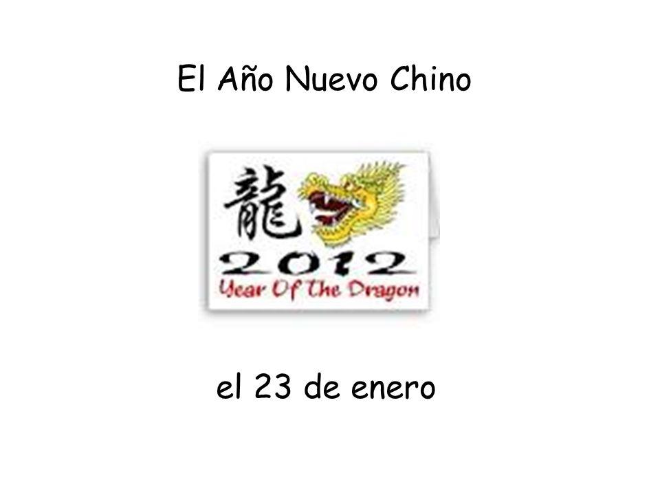 el 23 de enero El Año Nuevo Chino