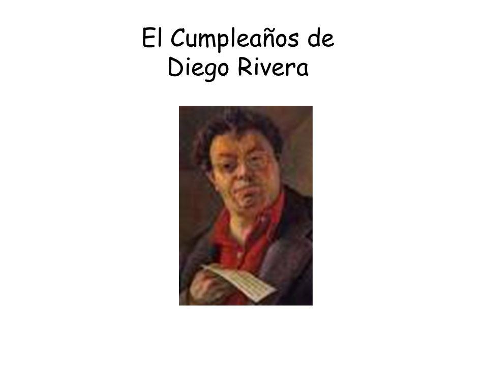 El Cumpleaños de Diego Rivera
