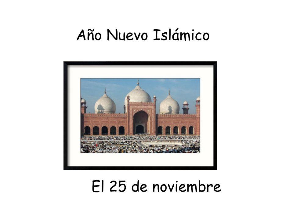 Año Nuevo Islámico El 25 de noviembre