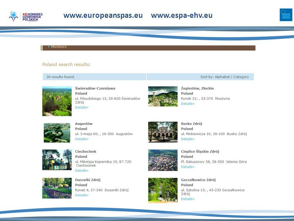www.europeanspas.eu www.espa-ehv.eu