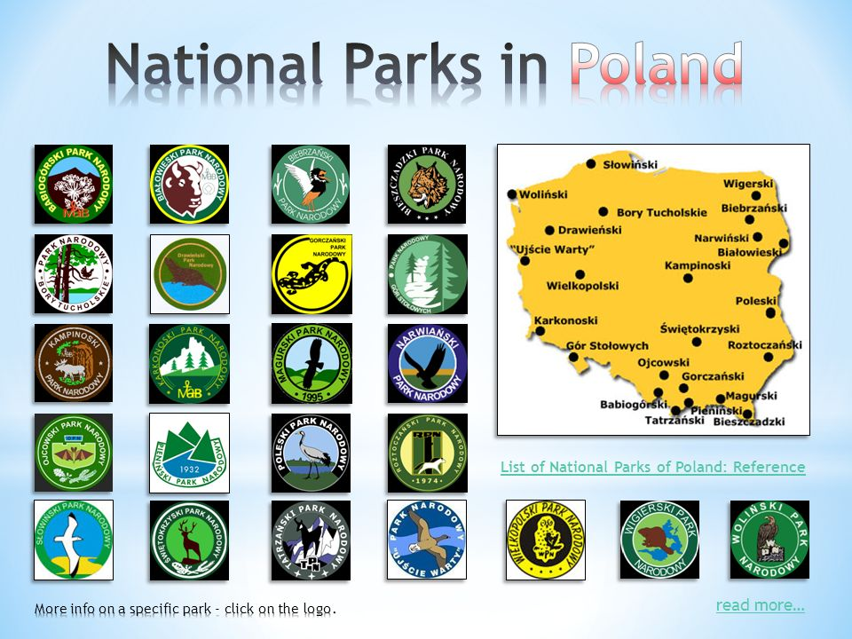 read more… List of National Parks of Poland: Reference