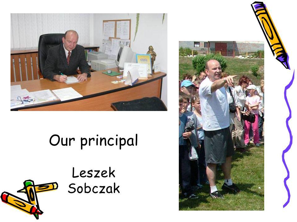 Our principal Leszek Sobczak