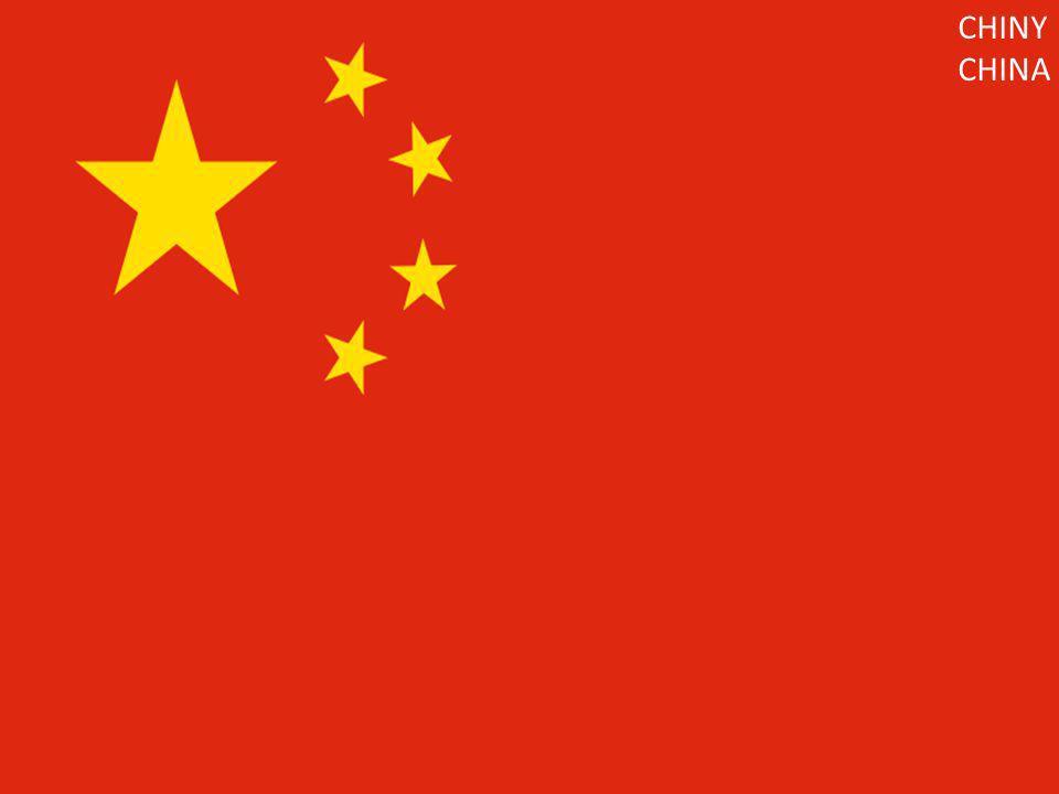 CHINY CHINA