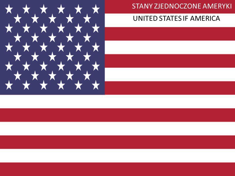 STANY ZJEDNOCZONE AMERYKI UNITED STATES IF AMERICA